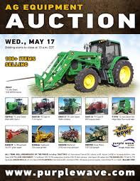 sold may 17 ag equipment auction purplewave inc