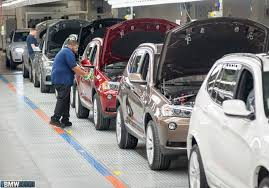 bmw factory tour bmw spartanburg plant reports record production volume