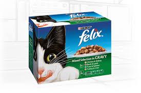 felix cat mixed selection in gravy chicken u0026 kidney duck