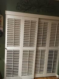Bypass Shutters For Patio Doors Shutters For Glass Sliding Doors