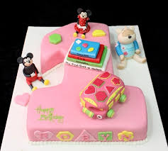minnie mouse 1st birthday cake birthday cake with toys mickey and minnie mouse