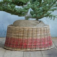 Faux Fur Christmas Tree Skirt Wicker Christmas Tree Skirts U2013 Happy Holidays