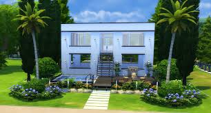 Symmetrical House Plans The Sims 4 How To Build A Simple Modern House Sims Community