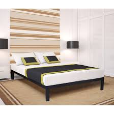 metal platform bed frame and full size platformframe interalle com