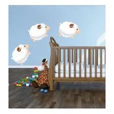 stickers mouton chambre bébé stickers muraux mouton bonne nuit les petits