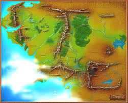 Map Middle Earth 3d Map Of Middle Earth Google Chrome Experiment Takes You A