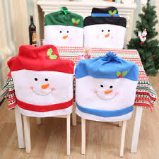 christmas chair covers christmas chair covers chair back covers christmas party table