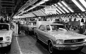 1964 Black Mustang Today In History 1964 Ford Mustang Debuts