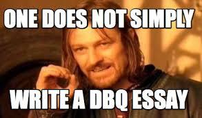 Essay Memes - meme creator one does not simply write a dbq essay meme