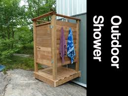 How To Create An Outdoor by How To Make An Outdoor Shower Youtube