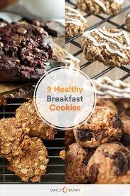 9 quick and healthy breakfast cookies recipes