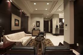 office reception wall interior design catchy home office modern by