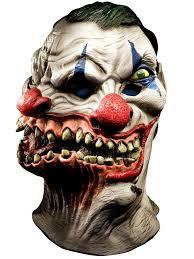 siamese clown over head halloween mask walmart com