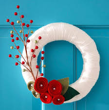 20 fresh and colorful wreath for door decorations home