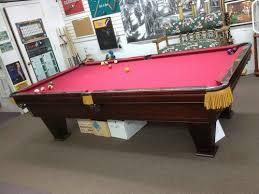 brunswick 7ft pool table used brunswick pool tables pool table ideas pinterest