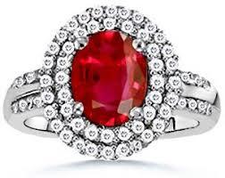 ruby diamond ring ruby and diamond rings