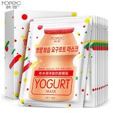 Yogurt Untuk Masker Wajah rorec yogurt mask cerah hydrating anti penuaan pemutih wajah