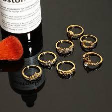 men hand rings images Online shop rscvonm vintage elephant hand ring sets for women man jpg