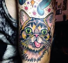 cattoos the new breed of tattoos for cat lovers