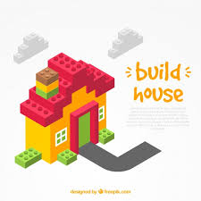 build a house free build bricks house background vector free