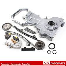 nissan sentra timing chain new timing cover oil pump chain kit for 02 06 nissan altima