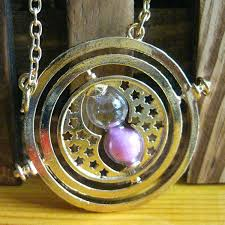 hermione necklace time images Harry potter time turner hermione granger spins hourglass sand jpg