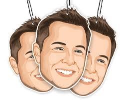 Elon Musk Elon S Musk The Original Air Freshener The Elon S Musk Company