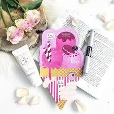rose nail mask le mini macaron