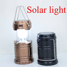 solar powered lantern lights portable vintage retro style solar powered cing led lantern light
