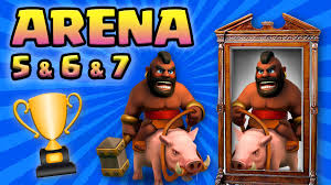 clash of clans hog rider clash royale trifecta hog arena 5 deck to arena 7
