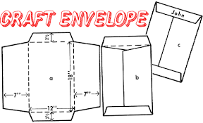 how to make your own envelope how to make envelopes crafts for kids ideas for paper crafts