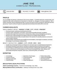 cosmetology resume template cosmetologist resume sles just out of school http www