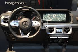 mercedes benz g class interior 2019 mercedes g class interior leaked high tech but not afraid to