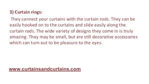 Types Of Curtains Different Types Of Curtain Accessories