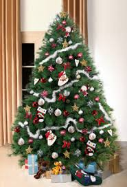 scottish fir green christmas tree 8ft tall artificial xmas trees