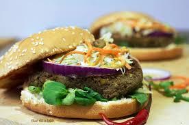 lentilles cuisine recette burger végétarien au steak de lentilles cuisine