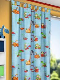 schlaufenschal kinderzimmer kinderzimmer dekoschal baustelle für jungs gardinen outlet
