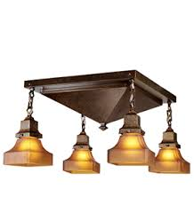 Craftsman Style Ceiling Light Mission Style Ceiling Lights We A Selection For Every