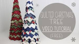 no sew quilted christmas tree craftsy