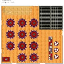banquet hall layout