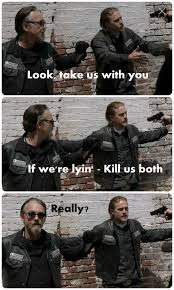Jax Teller Memes - for all our chibs lovers flangiirl tflanaganfans black mamba 06