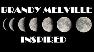 diy brandy melville inspired moon phase wall decor youtube