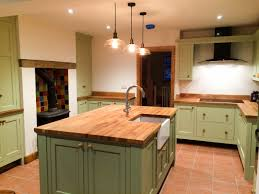 kitchens distinctive country furniture limited makers of painted kitchen with freestanding island unit complete with belfast sink