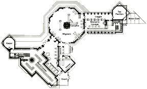 Kentuck Knob Floor Plan Nakoma Clubhouse Floor Plan 1924 Designed By Frank Lloyd Wright