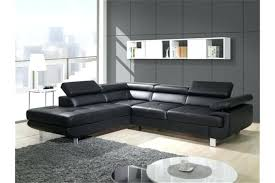 produit pour canapé en cuir cuir pour canape canapac design dangle studio pu noir canapacs