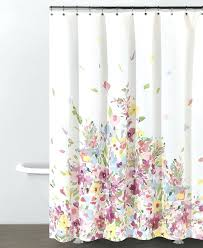 Bed And Bath Curtains Bed Bath And Beyond Bathroom Curtains Delicate Watercolour Flowers