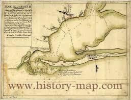 Pensacola Map Bay Florida