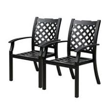 Aluminum Patio Chairs by Allen Roth Gatewood Slat Aluminum Patio Chaise Lounge Outdoors