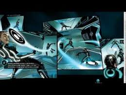 tron legacy interactive graphic