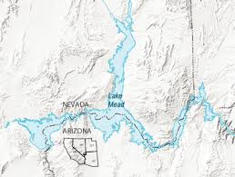lake mead map usgs nevada water science center